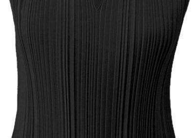 pleated-top-black